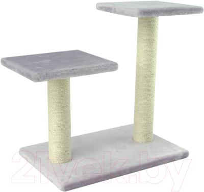 Комплекс для кошек UrbanCat K64-01-04 (светло-серый)