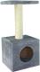 Домик-когтеточка UrbanCat D72-01-03 (серый) -