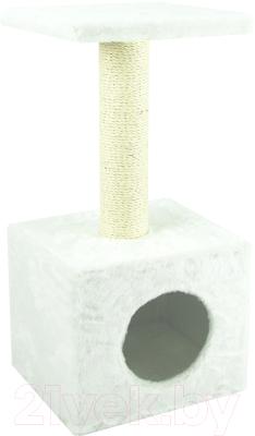 Домик-когтеточка UrbanCat D72-01-10 (белый)