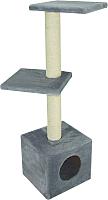 Комплекс для кошек UrbanCat D114-01-03 (серый) -