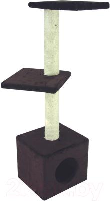 Комплекс для кошек UrbanCat D114-01-05 (темно-коричневый)