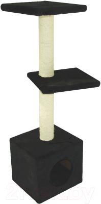 Комплекс для кошек UrbanCat D124-01-01 (черный)