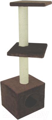 Комплекс для кошек UrbanCat D124-01-06 (коричневый)