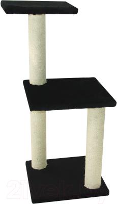 Комплекс для кошек UrbanCat K96-01-01 (черный)