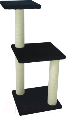 Комплекс для кошек UrbanCat K96-01-08 (темно-синий)