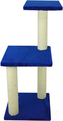 Комплекс для кошек UrbanCat K96-01-09 (синий)