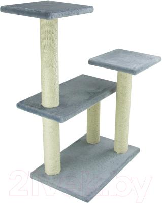 Комплекс для кошек UrbanCat K96-02-03 (серый)