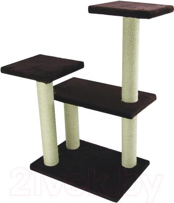 Комплекс для кошек UrbanCat K96-02-05 (темно-коричневый)