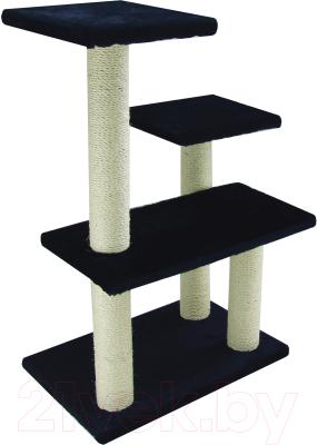 Комплекс для кошек UrbanCat K96-02-08 (темно-синий)
