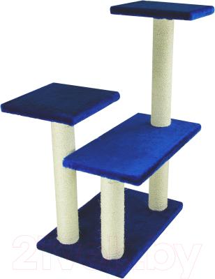 Комплекс для кошек UrbanCat K96-02-09 (синий)