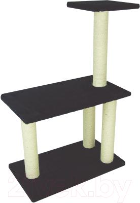 Комплекс для кошек UrbanCat K106-01-01 (черный)