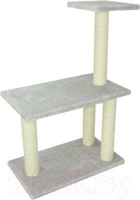 Комплекс для кошек UrbanCat K106-01-04 (светло-серый)