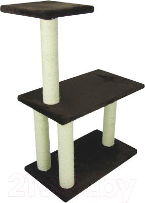 Комплекс для кошек UrbanCat K106-01-05 (темно-коричневый)