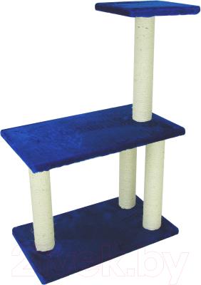 Комплекс для кошек UrbanCat K106-01-09 (синий)