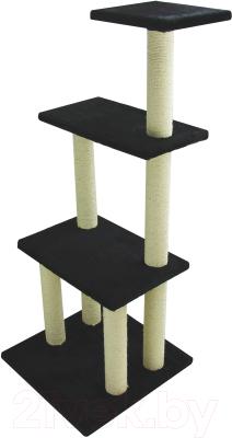 Комплекс для кошек UrbanCat K148-01-01 (черный)