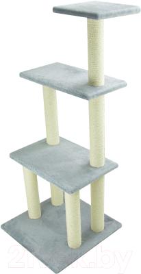Комплекс для кошек UrbanCat K148-01-03 (серый)