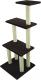 Комплекс для кошек UrbanCat K148-01-05 (темно-коричневый) -