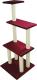 Комплекс для кошек UrbanCat K148-01-07 (бордовый) -