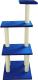 Комплекс для кошек UrbanCat K148-01-09 (синий) -