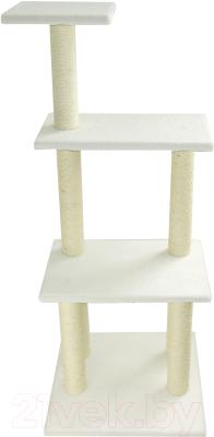 Комплекс для кошек UrbanCat K148-01-10 (белый)