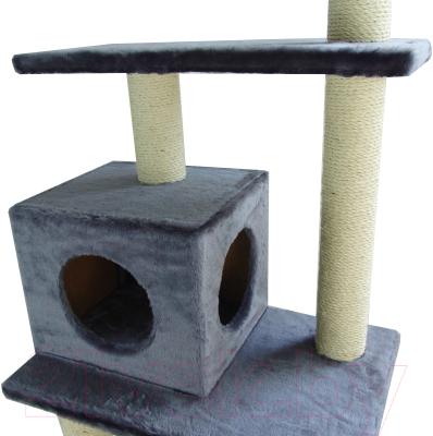 Комплекс для кошек UrbanCat K148-02-02 (темно-серый)
