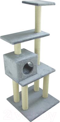 Комплекс для кошек UrbanCat K148-02-03 (серый)