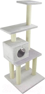 Комплекс для кошек UrbanCat K148-02-04 (светло-серый)