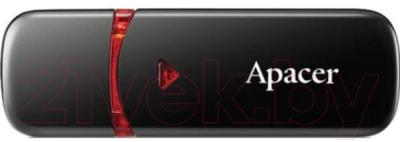 Usb flash накопитель Apacer AH333 Black 64GB (AP64GAH333B-1)