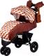 Детская прогулочная коляска Babyhit Voyage Air (коричневый/оранжевый) -