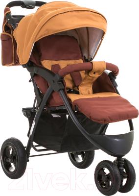 Детская прогулочная коляска Babyhit Voyage Air (коричневый)