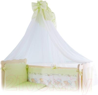 Балдахин на кроватку Баю-Бай Мечта Б10-М3 (зеленый)