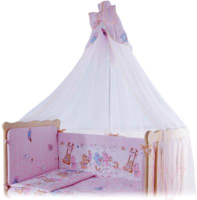 Балдахин на кроватку Баю-Бай Забава Б10-З1 (розовый)