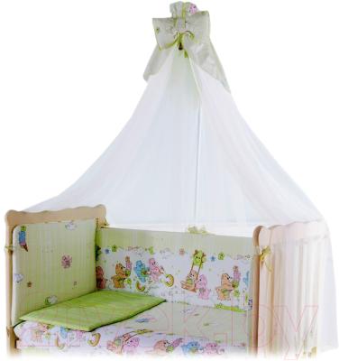 Балдахин на кроватку Баю-Бай Забава Б10-З3 (зеленый)