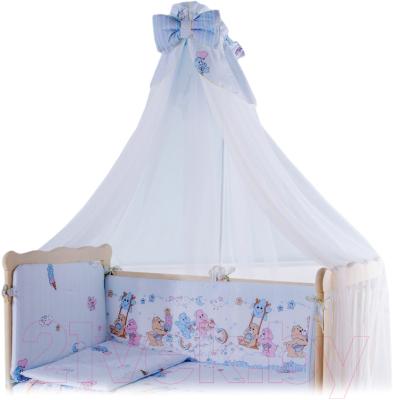 Балдахин на кроватку Баю-Бай Забава Б10-З4 (голубой)