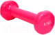 Гантель Gold Cup 0.5kg (розовый) -