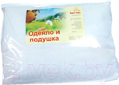 Комплект постельный детский Баю-Бай К21 (белый)