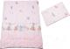 Комплект постельный детский Баю-Бай Забава К20-З1 (розовый) -