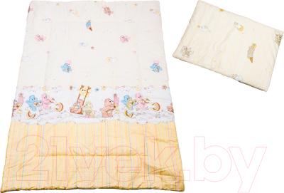 Комплект постельный детский Баю-Бай Забава / К20-З2 (бежевый)