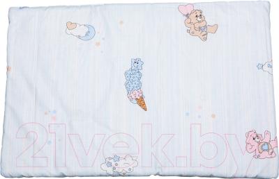 Комплект постельный детский Баю-Бай Забава К20-З4 (голубой)