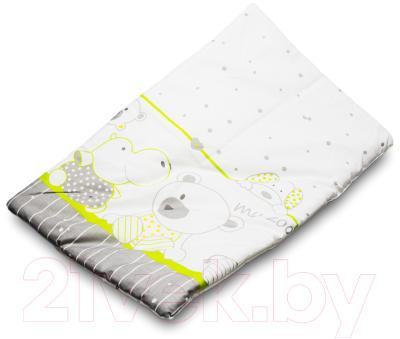 Комплект постельный детский Баю-Бай Дружба К20-Д3 (зеленый)