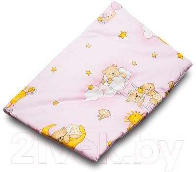 Комплект постельный детский Баю-Бай Нежность К20-Н1 (розовый)