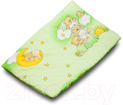 Комплект постельный детский Баю-Бай Нежность К20-Н3 (зеленый)