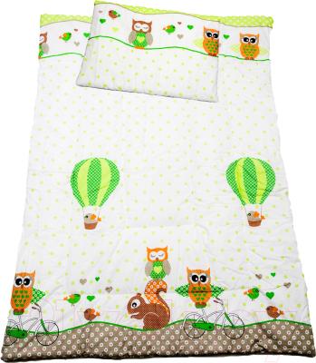 Комплект постельный детский Баю-Бай Раздолье К20-Р3 (зеленый)