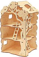 Сборная игрушка Woody Дом-дерево для Лешиков / 00730 -