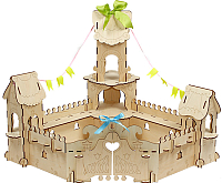 Сборная игрушка Woody Дворец Принцессы / 00808 -