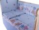 Комплект постельный в кроватку Баю-Бай Забава К31-З4 (голубой) -
