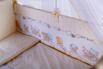 Комплект постельный в кроватку Баю-Бай Мечта / К50-М2 (бежевый)