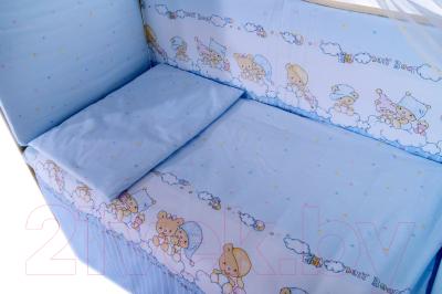 Комплект постельный в кроватку Баю-Бай Мечта / К50-М4 (голубой)