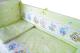Комплект в кроватку Баю-Бай Улыбка К50-У3 (зеленый) -