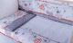 Комплект постельный в кроватку Баю-Бай Дружба К50-Д1 (красный) -